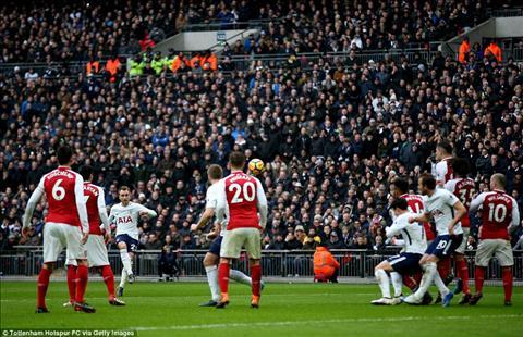 Du am Tottenham 1-0 Arsenal Hang thu tiep tuc bao hai Phao thu hinh anh 3
