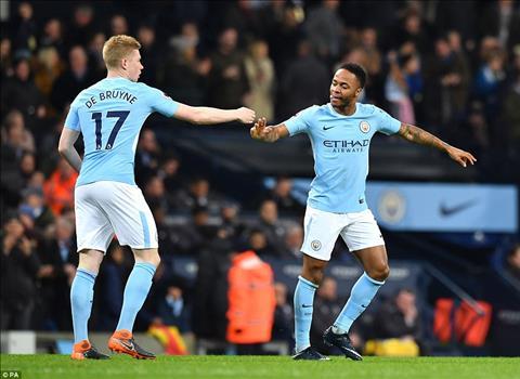 Thong ke an tuong tran Man City 5-1 Leicester hinh anh