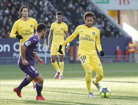 Tong hop Toulouse 0-1 PSG (Vong 25 Ligue 1 201718) hinh anh