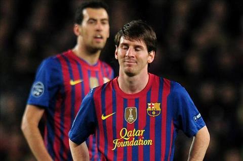 Lionel Messi da bat khoc sau that bai truoc Chelsea hinh anh