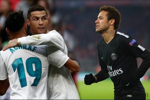 Cơ hội để Real Madrid mua Neymar ở Hè 2018 là vẫn còn hình ảnh