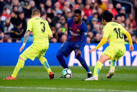 Iniesta tiet lo ly do Barca khong the danh bai GetafeTien ve Iniesta tiet lo ly do Barca khong the danh bai Getafe hinh anh