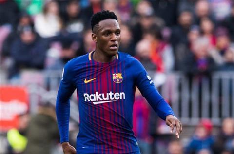 Man United muốn chiêu mộ trung vệ Yerry Mina của Barca hình ảnh