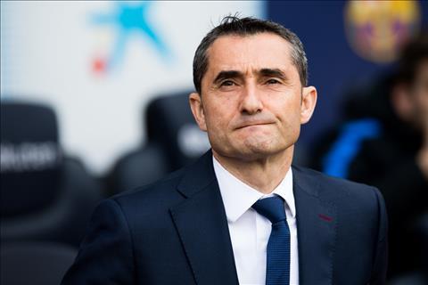 HLV Valverde noi gi khi Barca hoa 2 tran lien tai La Liga hinh anh