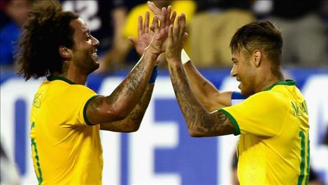 Marcelo noi gi truoc tin don Neymar co the toi Real hinh anh 2
