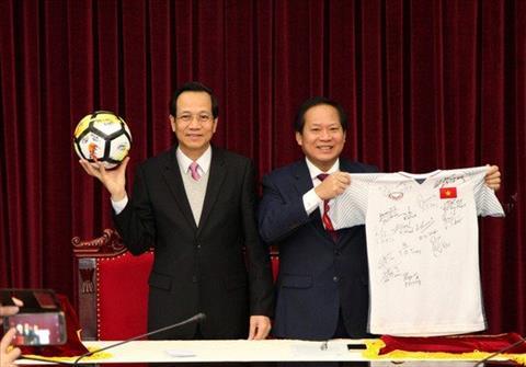 Tang pham cua DT U23 Viet Nam tang Thu tuong duoc ban voi gia cuc khung hinh anh