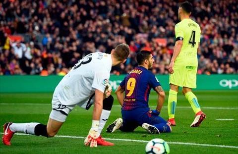 Tong hop Barca 0-0 Getafe (Vong 23 La Liga 201718) hinh anh