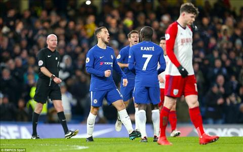 Tong hop Chelsea 3-0 West Brom (Vong 27 Premier League 201718) hinh anh