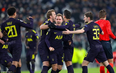 Tottenham co the vo dich Champions League hinh anh