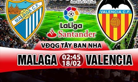 Nhan dinh Malaga vs Valencia 02h45 ngay 182 (La Liga 201718) hinh anh