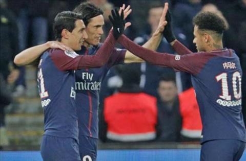 Tong hop PSG 5-2 Strasbourg (Vong 26 Ligue 1 201718) hinh anh