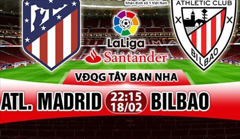 Nhan dinh Atletico Madrid vs Bilbao 22h15 ngay 182 (La Liga 201718) hinh anh