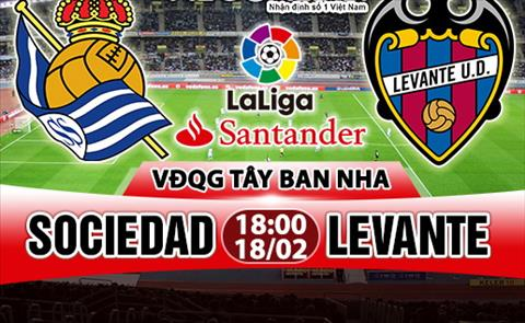 Nhan dinh Sociedad vs Levante 18h00 ngay 182 (La Liga 201718) hinh anh