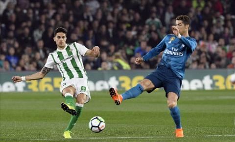 Tong hop Betis 3-5 Real Madrid (Vong 24 La Liga 201718) hinh anh