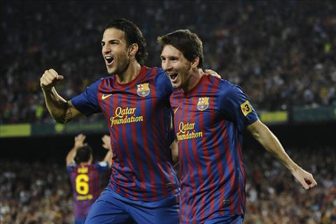 Dai chien Chelsea vs Barca anh huong tinh ban Fabregas vs Messi hinh anh