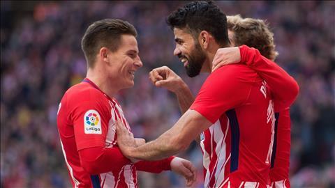 Gameiro Atletico se dua vo dich voi Barcelona den cung hinh anh