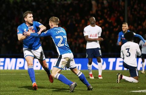 Tong hop Rochdale 2-2 Tottenham (Vong 5 FA Cup 201718) hinh anh