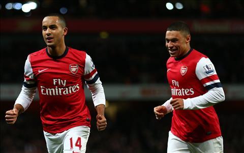 Chamberlain vs Walcott xat muoi noi dau Arsenal hinh anh