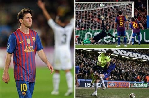 Truoc tran Chelsea vs Barca Messi va loi nguyen nang tua dinh Ben Nevis hinh anh