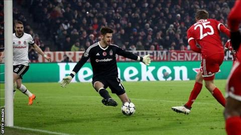 Nhung thong ke an tuong tran Bayern Munich 5-0 Besiktas hinh anh 2