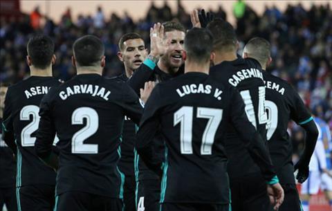 Tong hop Leganes 1-3 Real Madrid (Da bu vong 16 La Liga 201718) hinh anh
