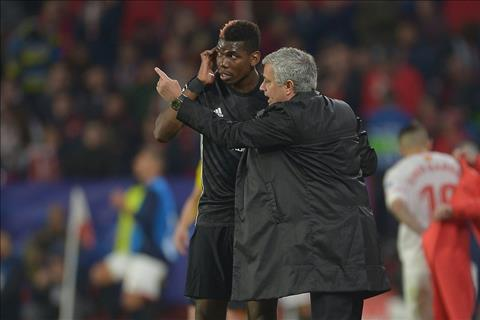 Pogba va Mourinho