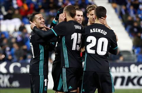 """Leganes 1-3 Real Madrid: Da thay hinh bong cua """"Dai Ken ken"""""""