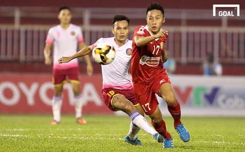 Bui Tran Vu (ao trang) duoc giu lai Sai Gon FC