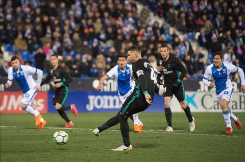 Nhung thong ke an tuong sau tran dau Leganes 1-3 Real Madrid hinh anh