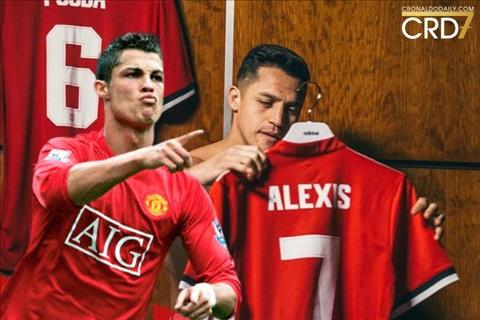Alexis Sanchez ve MU Khoac ao so 7 nhu Ronaldo, hay hoc Ronaldo! hinh anh 4