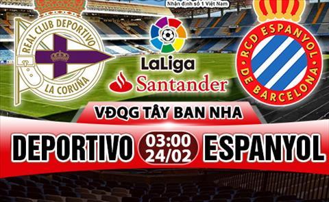 Nhan dinh Deportivo vs Espanyol 03h00 ngay 242 (La Liga 201718) hinh anh