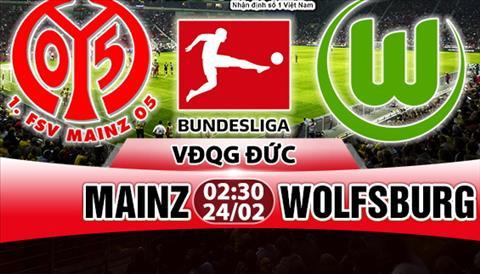 Nhan dinh Mainz vs Wolfsburg 02h30 ngay 242 (Bundesliga 201718) hinh anh