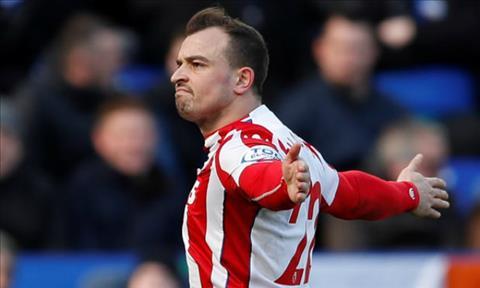 Liverpool muốn mua Xherdan Shaqiri của Stoke City hình ảnh