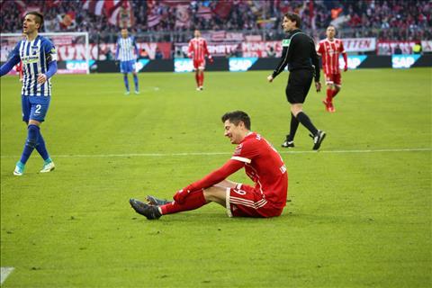 Bayern Munich 0-0 Hertha Berlin Cham dut mach toan thang hinh anh