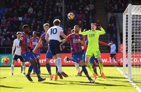 Nhung thong ke dang nho sau tran Crystal Palace 0-1 Tottenham hinh anh