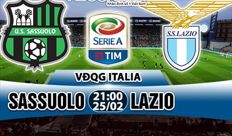 Nhan dinh Sassuolo vs Lazio 21h00 ngay 252 (Serie A 201718) hinh anh