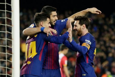 Thay gi sau tran dai thang cua Barcelona o vong 25 La Liga hinh anh