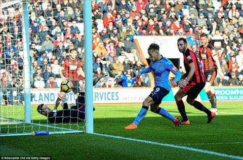 Tong hop Bournemouth 2-2 Newcastle (Vong 28 Premier League 201718) hinh anh