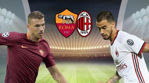 Roma vs AC Milan 2h30 ngày 42 (Serie A 201819) hình ảnh