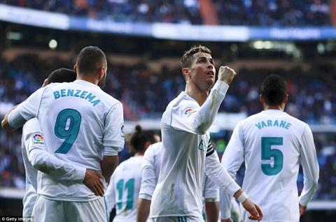 Cristiano Ronaldo tro lai Loi khang dinh cua nha vua hinh anh