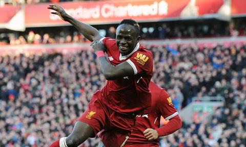 Sadio Mane ghi ban an dinh chien thang cho Liverpool.