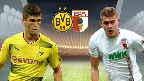 Nhan dinh Dortmund vs Augsburg 02h30 ngay 272 (Bundesliga 201718) hinh anh