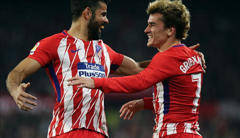 Sevilla 2-5 Atletico Madrid Tuyet dinh Griezmann hinh anh