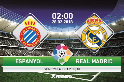 Espanyol vs Real Madrid (02h00 ngay 282) 3 diem la du hinh anh