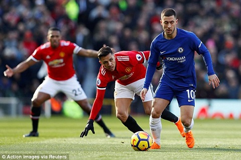 Sao Chelsea ngam trach Conte quyet dinh thay Hazard hinh anh
