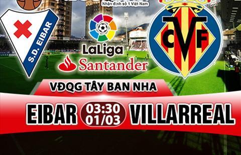 Nhan dinh Eibar vs Villarreal 03h30 ngay 13 (La Liga 201718) hinh anh