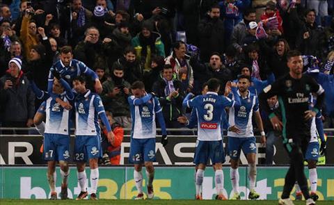 Tong hop Espanyol 1-0 Real Madrid (Vong 26 La Liga 201718) hinh anh