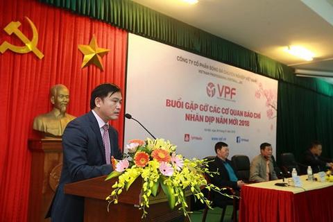 Chủ tịch VPF nói về bóng đá Việt Nam hình ảnh