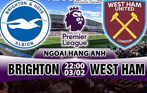 Nhan dinh Brighton vs West Ham 22h00 ngày 32 (Premier League) hinh anh