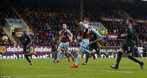 Cham diem Burnley 1-1 Man City Danilo khong the hoa nguoi hung hinh anh 2